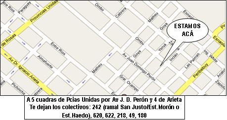 Mapa Biblioteca 303